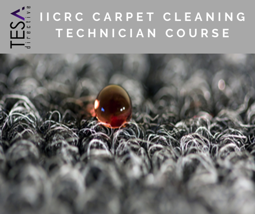 IICRC Carpet Cleaning Technician Course